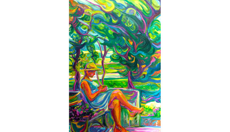 Catherine Gaillard-Perez Huile sur toile