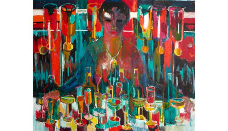 Jean-Maxime Relange peinture