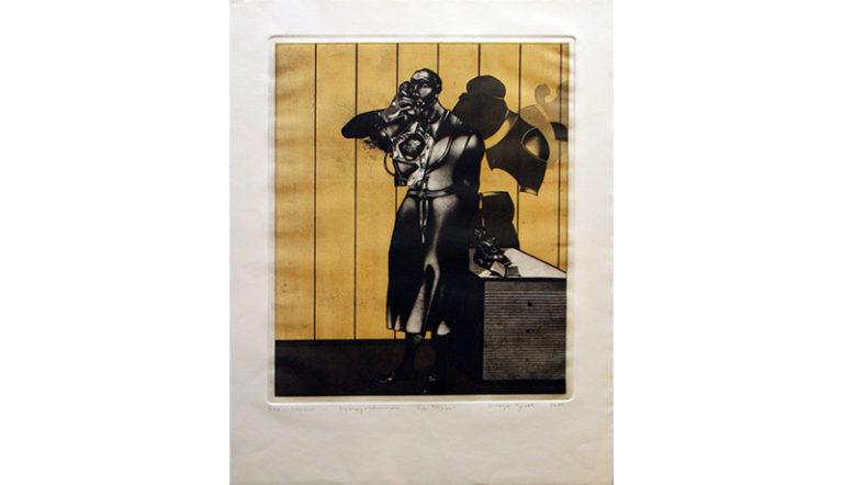 Stoyan Tzanev Lithographie et Aquarelle