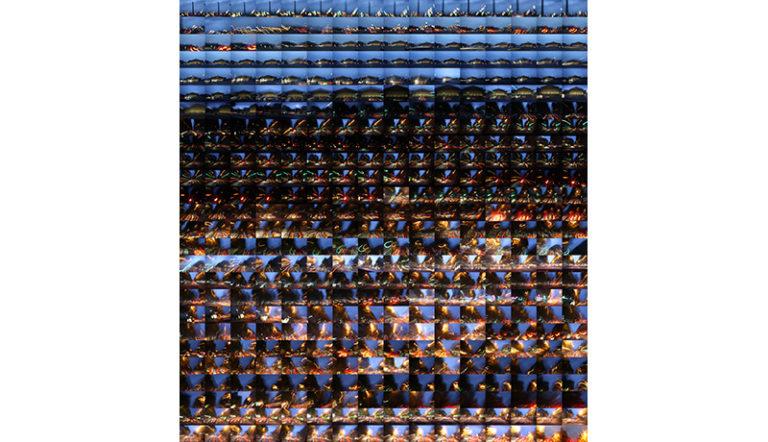 Jean-Philippe Pernot La Concorde et Saint Germain-des-Près, 2008/2009 Tirage numérique contrecollé sur Dibond, 120 x 130 cm